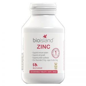 Bio Island ZINC 婴幼儿补锌片 120粒